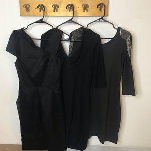 X3 Black Dresses S